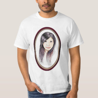 Beautiful Portrait of an Asian Woman T-Shirt