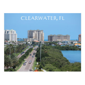 Beautiful postcard of Clearwater, Florida