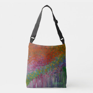 Beautiful & Practical French Garden Messenger Bag