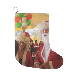 Beautiful Pretty Father Christmas latest lovely Large Christmas Stocking
