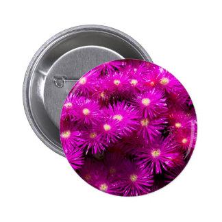 Beautiful Pretty Purple Flowers Custom Gifts Pinback Button
