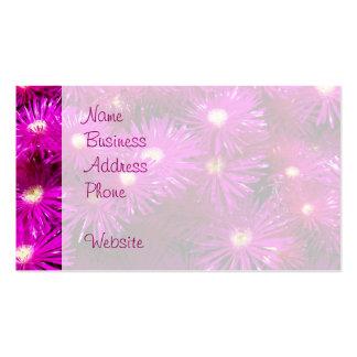Beautiful Pretty Purple Flowers Custom Gifts Business Card Templates