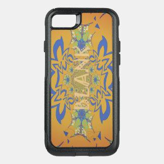 Beautiful Pretty Unique Blank Floral Text Design OtterBox Commuter iPhone 8/7 Case