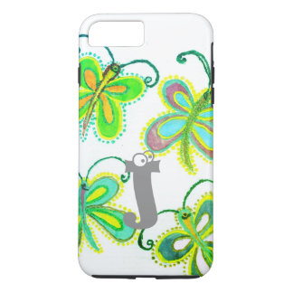 Beautiful Pretty Unique Exception Girly  Butterfly iPhone 8 Plus/7 Plus Case