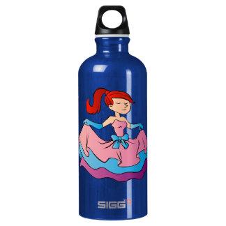 Beautiful princess cartoon. SIGG traveller 0.6L water bottle