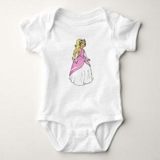 Beautiful Princess in Pink Baby Jersey Bodysuit