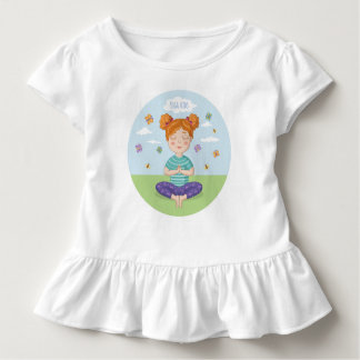 Beautiful print for small yoga lovers toddler T-Shirt