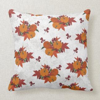 Beautiful Pumpkin Harvest Throw Pillow