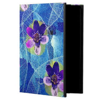 Beautiful Purple and Blue Artistic Floral Pattern Powis iPad Air 2 Case