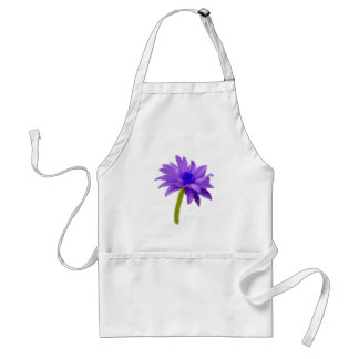 Beautiful Purple Flower Aprons