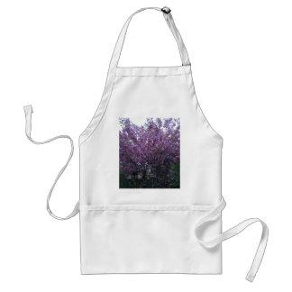 Beautiful purple flowers in Scotland Aprons