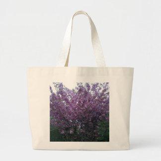 Beautiful purple flowers in Scotland Canvas Bag