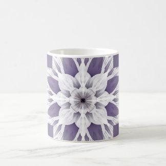Beautiful purple fractal coffee mug