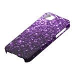Beautiful Purple glitter sparkles iPhone 5 Covers