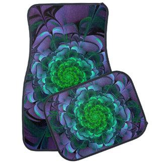 Beautiful Purple & Green Aeonium Arboreum Zwartkop Car Mat