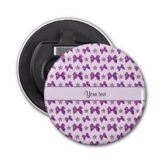 Beautiful Purple Satin Bows