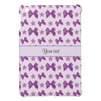 Beautiful Purple Satin Bows iPad Mini Cases