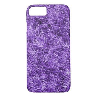 Beautiful Purple Straw Pattern iPhone 7 Case