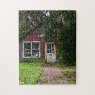 Beautiful Puzzle With Picture of an Old Shoppe
