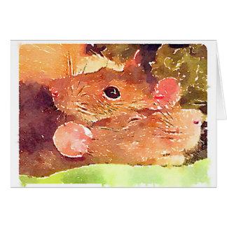Beautiful Rats Greeting Card