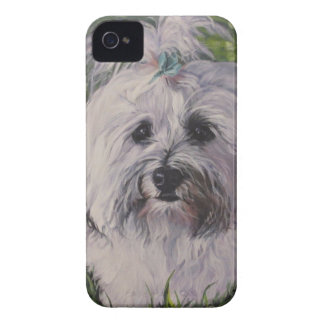 Beautiful Realistic Havanese Dog Art Painting Case-Mate iPhone 4 Case