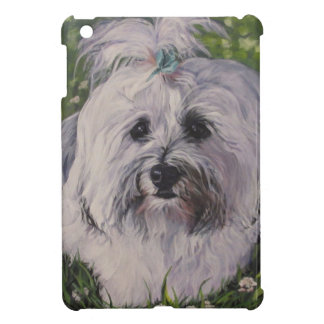 Beautiful Realistic Havanese Dog Art Painting Cover For The iPad Mini