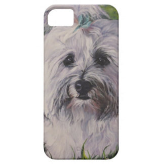 Beautiful Realistic Havanese Dog Art Painting iPhone 5 Case