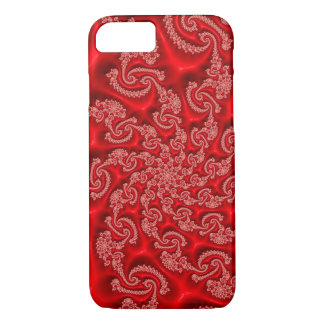 Beautiful red abstract Fractal Art Case