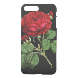Beautiful Red Abstract Texture Rose iPhone 7 Plus Case