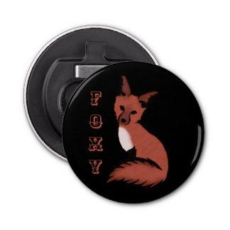 Beautiful Red Foxy Fox Bottle Opener