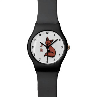 Beautiful Red Foxy Fox Watch