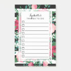 Beautiful Red & Pink Bouquet - To Do List Post-it Notes