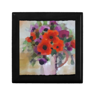 Beautiful Red Poppies Gift Box