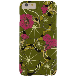 Beautiful Red Water Lily Pattern iPhone 6/6Plus Barely There iPhone 6 Plus Case