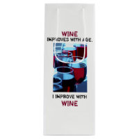 Beautiful Red Wine Photo with Humourous Typography