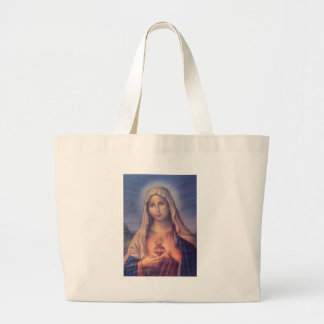 Beautiful Religious Sacred Heart of Virgin Mary Bag