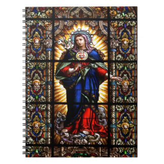 Beautiful Religious Sacred Heart of Virgin Mary Notebook