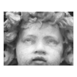 Beautiful Renaissance Child Angel Personalized Invitation