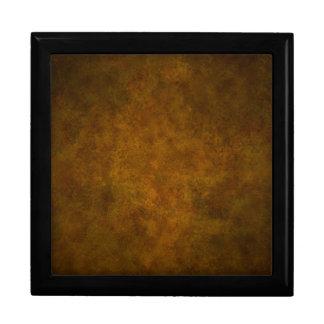 Beautiful Retro Gold Grunge Texture Jewelry Boxes