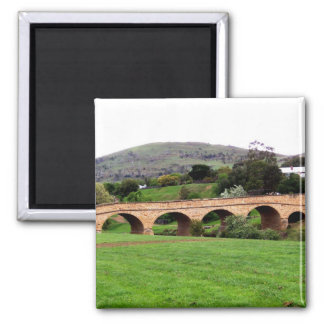 Beautiful Richmond Bridge At Tasmania Magnet