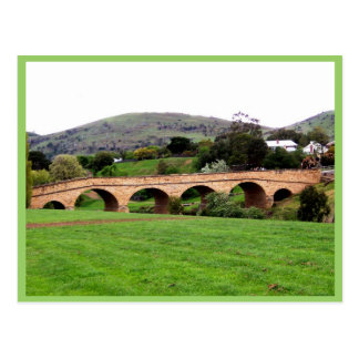 Beautiful Richmond Bridge At Tasmania Postcard