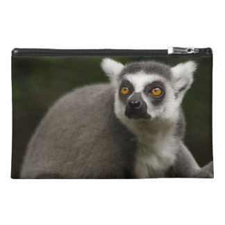 Beautiful Ring Tailed Lemur Travel Accessories Bags