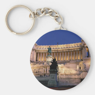 Beautiful Rome, Italy Basic Round Button Key Ring