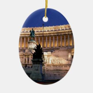 Beautiful Rome, Italy Ceramic Oval Decoration