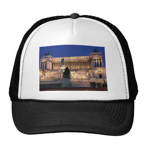 Beautiful Rome, Italy Hat