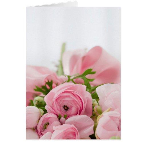 Beautiful Rose Bouquet Card