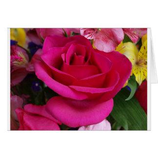 Beautiful rose. card