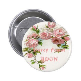 Beautiful Rose Design Buttons