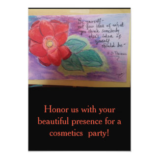 beautiful rose with vivid colors card