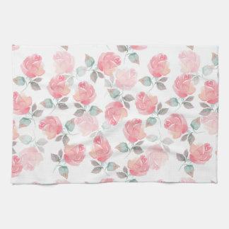 Beautiful roses tea towel
